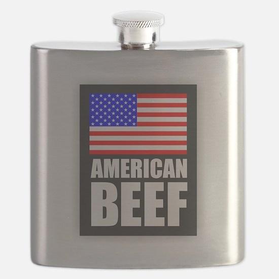 American Beef Flask