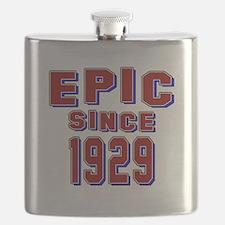 Epic Since 1929 Birthday Designs Flask