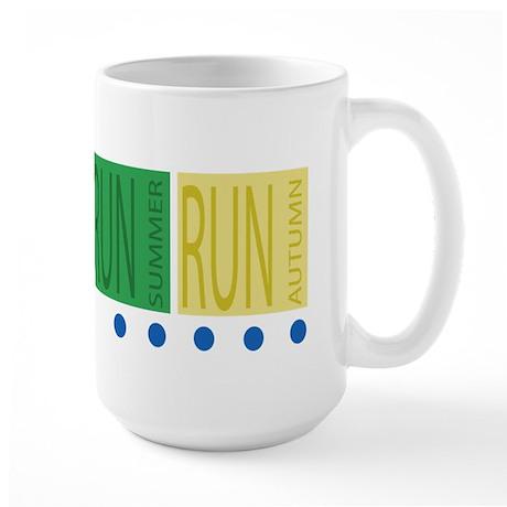 All Season Runner Large Mug