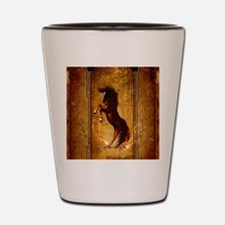 Awesome horse Shot Glass