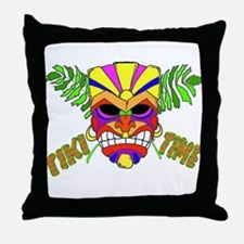 TIKI TIME Throw Pillow