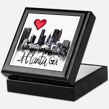 Cute Atlanta georgia Keepsake Box