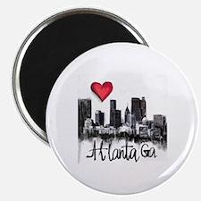 Cute City of atlanta Magnet