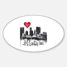 Unique Atlanta Sticker (Oval)