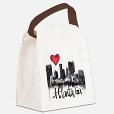 Funny City Canvas Lunch Bag