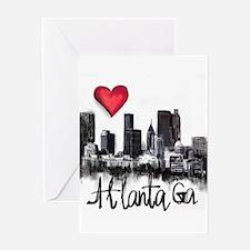 I love Atlanta Greeting Cards