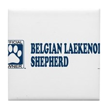 BELGIAN LAEKENOIS SHEPHERD Tile Coaster