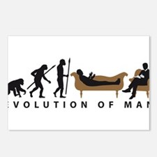 Evolution Therapist Psychologist Postcards (Packag