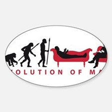Evolution Therapist Psychologist Decal