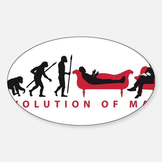 Evolution Therapist Psychologist Decal