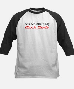"""""""Ask About My Lincoln"""" Kids Baseball Jersey"""