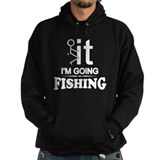 Funny fishing Dark Hoodies