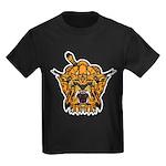 Fierce Tiger Kids Dark T-Shirt