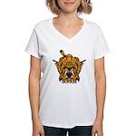 Fierce Tiger Women's V-Neck T-Shirt
