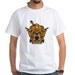 Fierce Tiger White T-Shirt