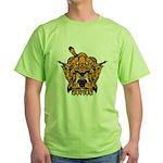 Fierce Tiger Green T-Shirt