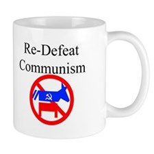re-defeat communism Mug