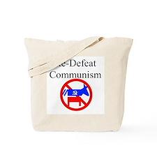 re-defeat communism Tote Bag