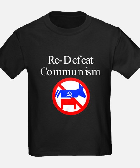 re-defeat communism T