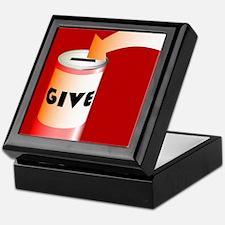 Charity Tin Keepsake Box