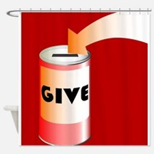 Charity Tin Shower Curtain