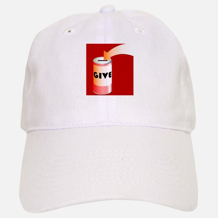 Charity Tin Baseball Baseball Cap