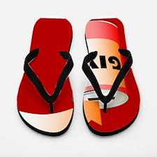 Charity Tin Flip Flops