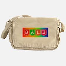 Sale Sign Messenger Bag