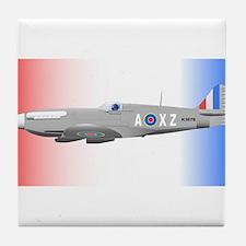 Supermarine Spitfire Tile Coaster