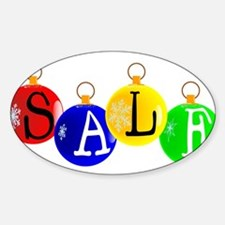 Christmas Sale Decoration Decal