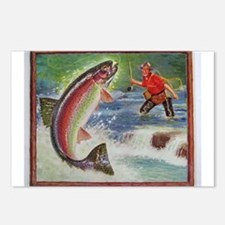 Fishing Postcards (Package of 8)