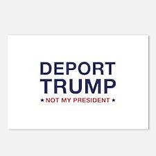 Deport Trump Postcards (Package of 8)