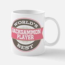 backgammon player Mug