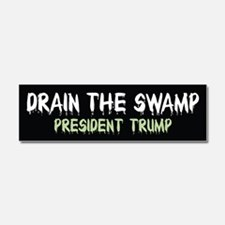 Drain The Swamp Car Magnet 10 x 3