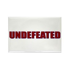 Undefeated Rectangle Magnet