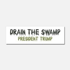 Drain The Swamp Car Magnet 10 x 3