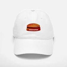 Angus Burger Baseball Baseball Cap