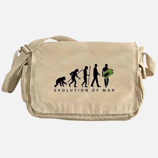 Evolution Stamp collector Messenger Bag