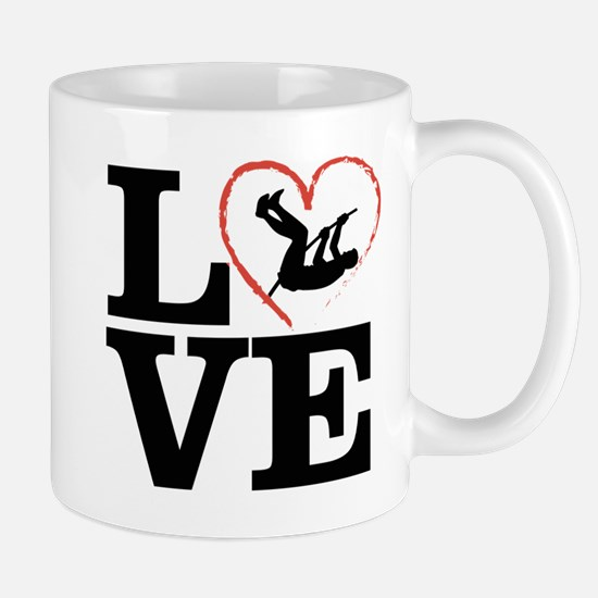 I love Pole Vault Mugs