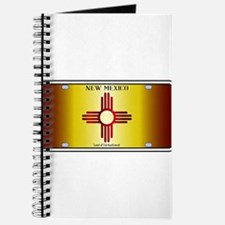 New Mexico Flag License Plate Journal