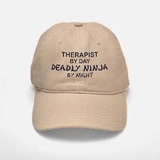 Therapist Deadly Ninja Baseball Baseball Cap