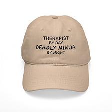Therapist Deadly Ninja Baseball Cap