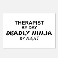 Therapist Deadly Ninja Postcards (Package of 8)
