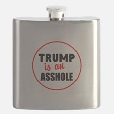 Trump is an asshole Flask