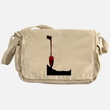 Pouring Red Wine Messenger Bag
