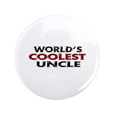 "World's Coolest Uncle 3.5"" Button (100 pack)"