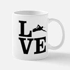 i love swim Mugs