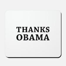 Thanks Obama Mousepad