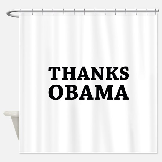 Thanks Obama Shower Curtain