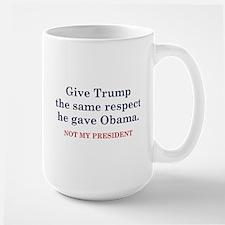 Same Respect Large Mug